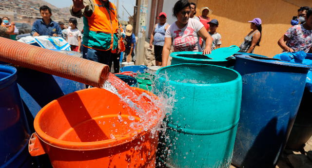 Sedapal, corte de agua hoy jueves 13 de mayo