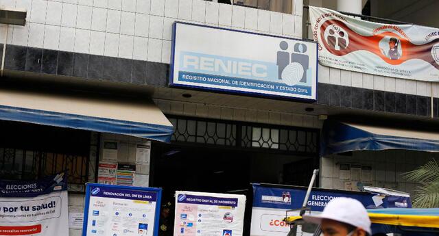 El Reniec ya está atendiendo en sus oficinas a nivel nacional.