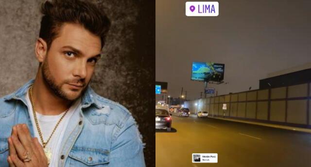 A pesar que Nicola Porcella se mostró en los estudios de Televisa en México, él sorprendió al pisar nuevamente suelo peruano.
