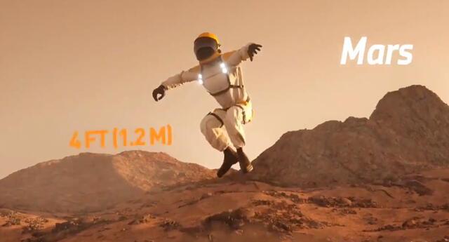 Conoce todo lo que debes saber sobre los saltos en otros planetas.