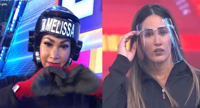 Esto es guerra: Melissa Loza supera a su hermana Tepha Loza en dura competencia