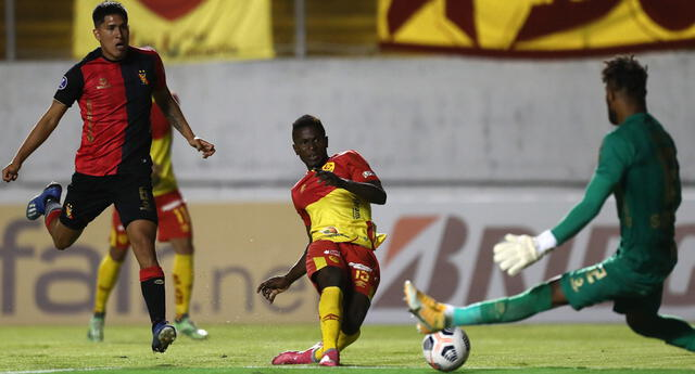 Melgar no pudo ante Aucas en Ecuador y perdió 2-1 por la Copa Sudamericana.