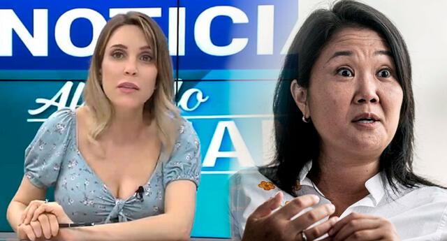 Juliana Oxenford se mostró indignada tras las declaraciones de la hija de Alberto Fujimori.