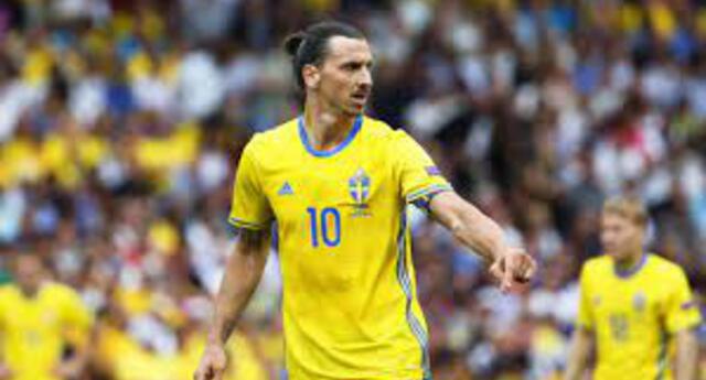 Zlatan Ibrahimovic no estará con Suecia en la Eurocopa.