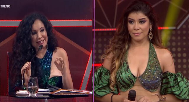 Janet Barboza entró con todo y le quitó un punto a María Grazia Polanco.