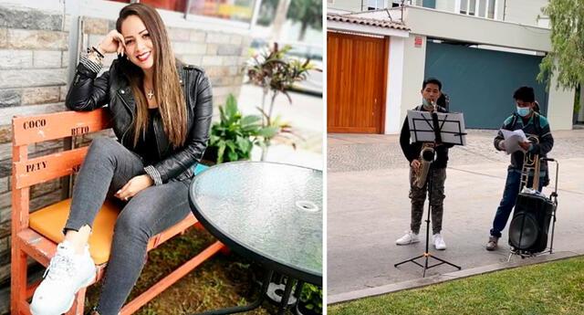 Melissa Klug sorprendida con jóvenes talentosos.