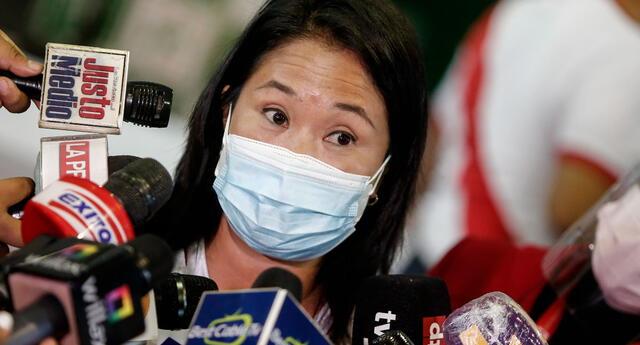 Keiko Fujimori no podrá viajar a Ecuador