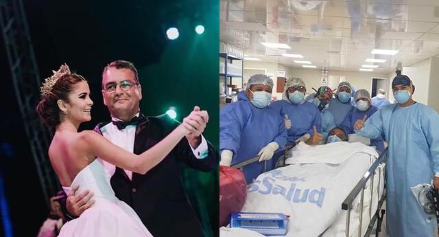 Laura Spoya se mostró emocionada al anunciar que su padre venció el coronavirus, y pidió orar por todos los que luchan contra esta enfermedad.