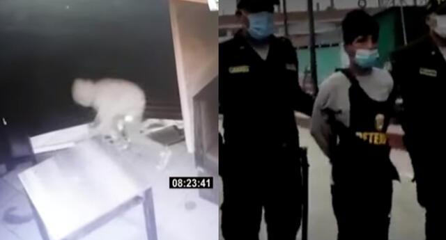 Fiscalía investiga a los tres menores que intentaron asaltar pollería de Los Olivos
