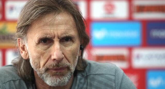 Gareca refirió que lo fundamental es que los seleccionados estén concentrados cuando se junten para disputar los partidos de la Copa y de las Eliminatorias.