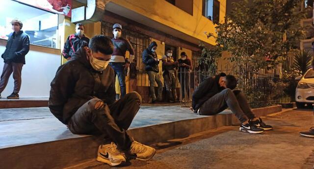 Agentes PNP en cubiertos capturaron a hampones en Los Olivos.