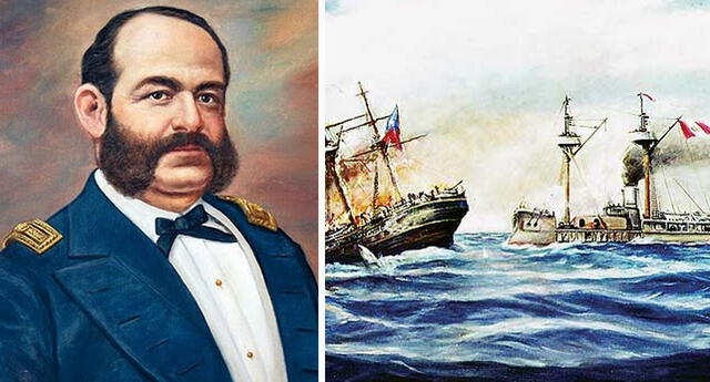 Combate de Iquique: El gran gesto de nobleza de Miguel Grau con la armada chilena.