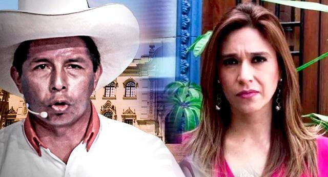 """Verónica Linares responde a Pedro Castillo y no teme que exponga su sueldo: """"Será su decisión"""""""