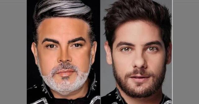 """Andrés Hurtado en desacuerdo que Andrés Wiese sea segunda vez nominado en """"Los 100 rostros más bellos del mundo""""."""