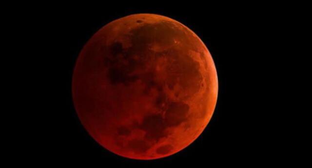 """Eclipse """"Luna de Sangre"""": a qué hora y en qué países se verá el evento astronómico."""