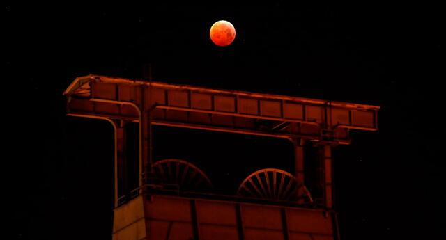 Eclipse de Luna de Sangre ocurrirá el próximo 26 de mayo.
