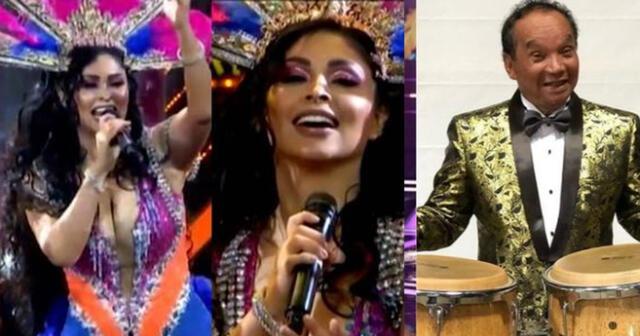 Melcochita y Pamela Franco deslumbraron en la pista de el 'Artista del año'.