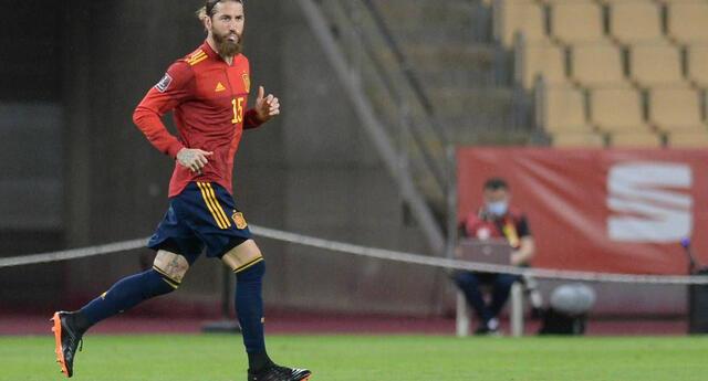 Sergio Ramos no será parte de la selección española para la Eurocopa