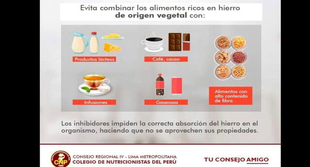 Aprende a combinar tus alimentos y evita perjudicar tu alimentación.