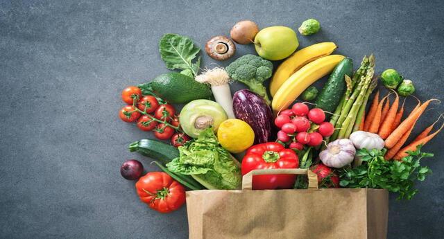 Los colores de las frutas y vegetales esconden muchos beneficios.