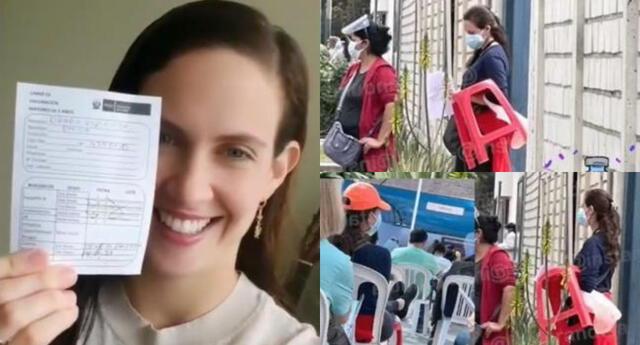 La actriz Emilia Drago accedió a la vacuna contra el coronavirus del MINSA a los 32 años debido a que sufre trombofilia