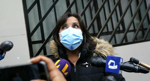 Dina Boluarte, candidata a la vicepresidencia de Perú Libre, habló sobre el tema de la AFP.