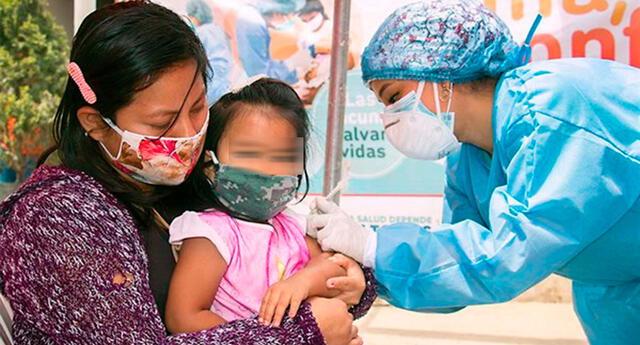 Vacunación en menores cayó hasta un 40%.