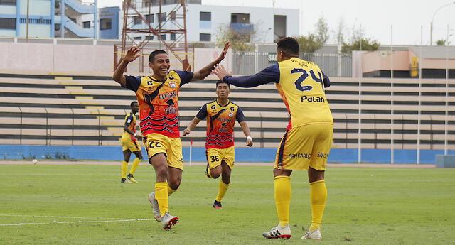 Chavelines en la tercera jornada recién pude alcanzar un victoria en la Liga 2.