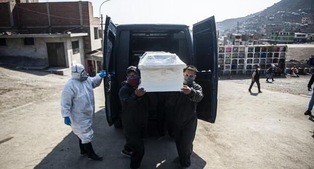 Muertes por COVID-19 en Perú sube a 180 mil 764