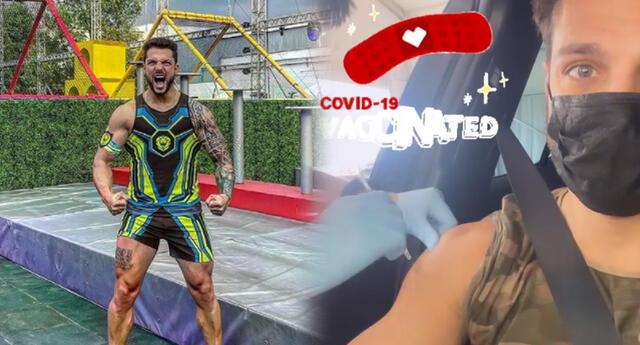 Nicola Porcella viajó a Miami y recibe la vacuna contra la COVID-19