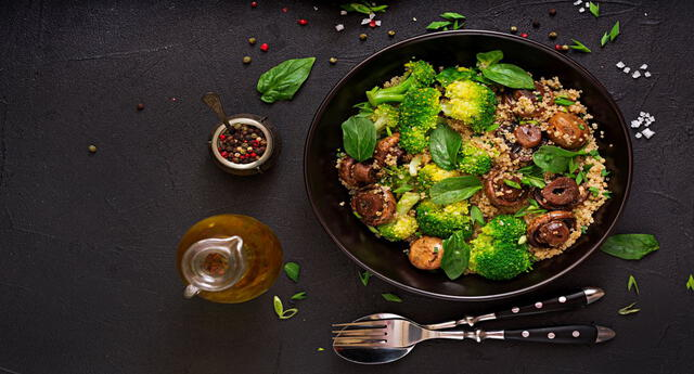 La alimentación vegetariana tiene beneficios para la salud.