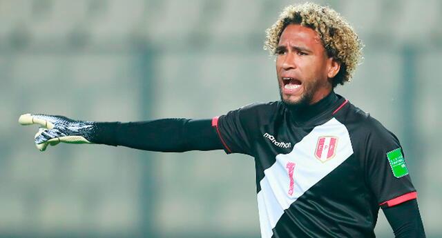 Pedro Gallese se mentaliza para enfrentar a Colombia y Ecuador.