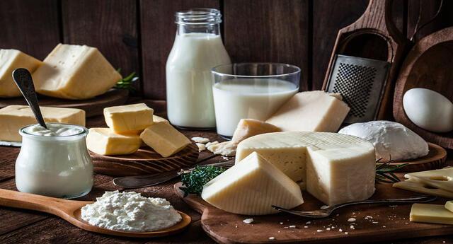 Son muchos los productos que derivan de la leche y que son beneficiosos para la salud.