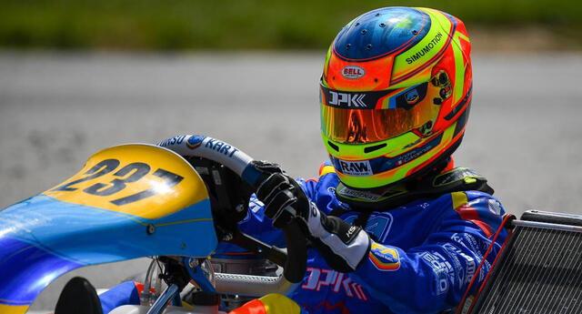 Andrés Cárdenas ha confirmado sus progresos en los circuitos del Viejo Continente.