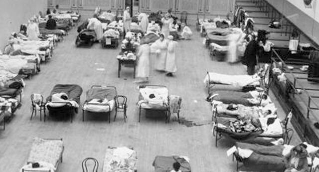 Sudamérica y gran parte del mundo sufría por la gripe española.