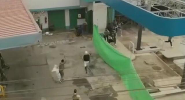PNP detiene a delincuentes que intentaron asaltar un grifo.