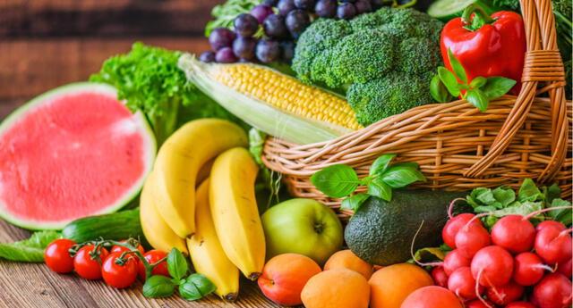 Los nutrientes de frutas y verduras disminuyen la inflamación y el estrés oxidativo.
