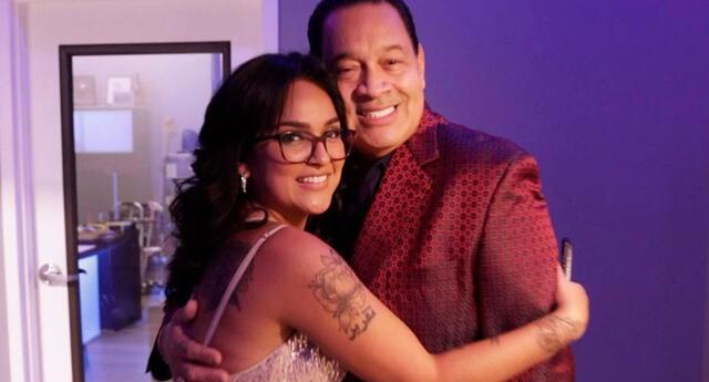 Daniela Darcourt y Tito Nieves han construido una gran amistad en menos de un año. Foto: Facebook / Tito Nieves