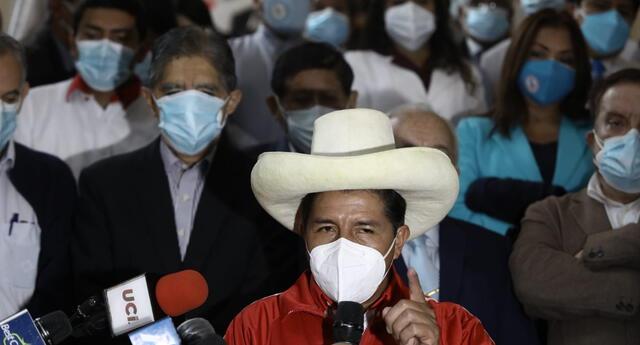Quedan pocos días. Pedro Castillo y Keiko Fujimori se medirán en balotaje el próximo domingo 6 de junio .