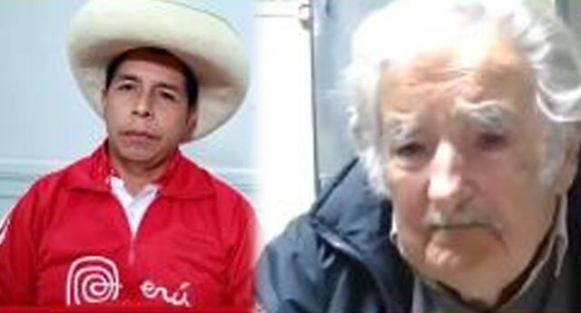 Pedro Castillo y José 'Pepe' Mujica se reunieron dos días antes de la segunda vuelta electoral.