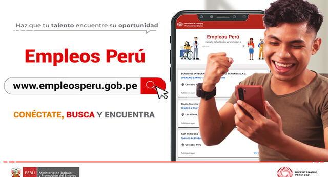 Portal de empleos ofrece servicios públicos gratuitos. Foto: difusión