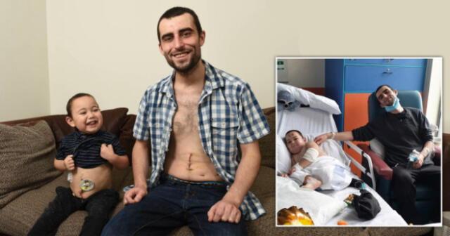 John Keitley vive en Inglaterra, junto a su pequeño de a penas 4 años que fue diagnosticado de una terrible enfermedad renal durante su nacimiento.