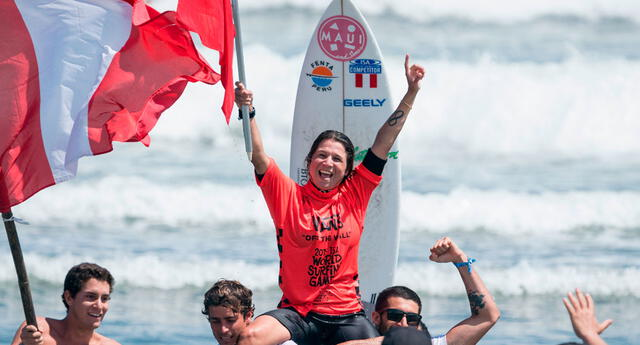 Sofía Mulanovich clasificó a los Juegos Olímpicos de Tokio 2020.