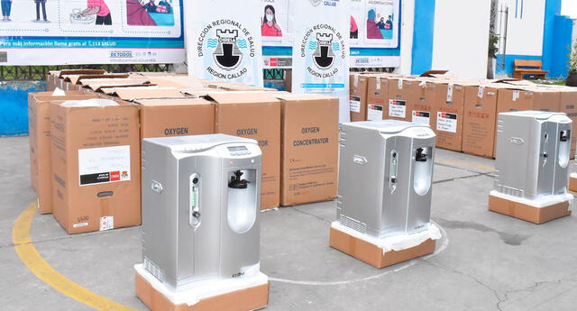 Concentradores de oxigeno para Centros de Aislamientos.