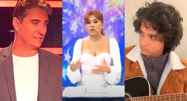 Magaly Medina criticó que Guillermo Dávila no se haya comunicado personalmente con su hijo Vasco Madueño, y pidió a La Voz Perú darle apoyo.