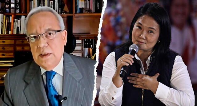 Hildebrandt señaló que Keiko Fujimori está haciendo lo mismo que su padre, el exdictador Alberto Fujimori, quien ganó en las elecciones del 2000 de manera fraudulenta.