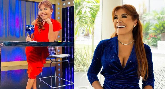Magaly Medina celebra que continúa líder en su horario con Magaly TV La firme