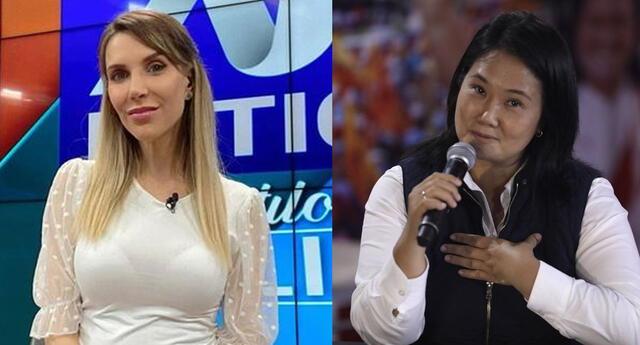 Juliana Oxenford vuelve invitar a su programa a Keiko Fujimori.