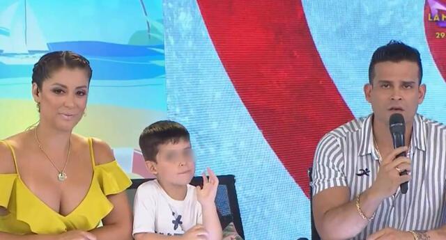 Karla Tarazona lanzó hilarante comentario tras escuchar a su hijo.