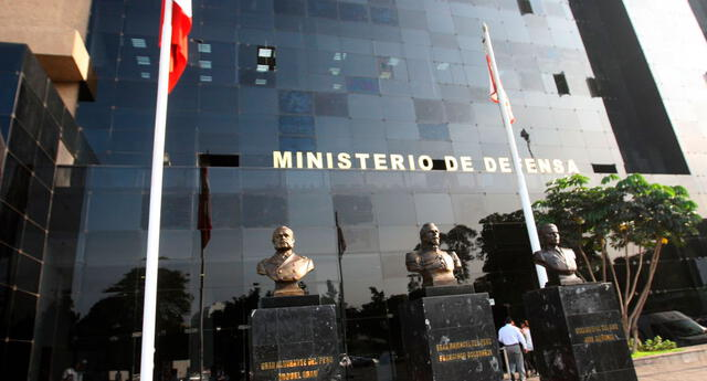 Ministerio de Defensa.